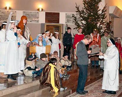 Jasełka i Chór – koncertowy dzień w naszej parafii