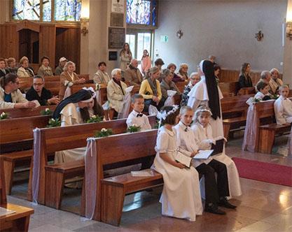 W trzecim dniu po I Komunii Świętej