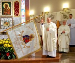 Poświęcenie sztandaru Akcji Katolickiej